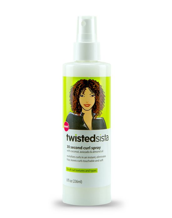 30 Seconds Curl Spray. Twisted Sista