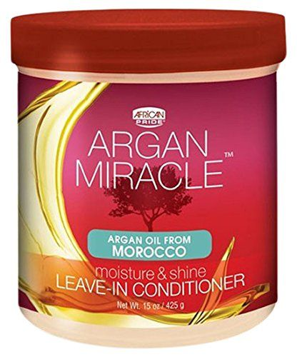 African Pride Argan Miracle Leave-In Conditioner 425g