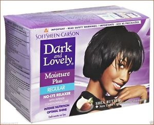 Dark and Lovely Moisture Plus No-Lye Relaxer