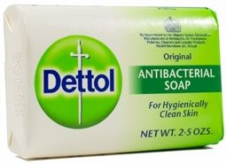 Dettol Antibacterial  Hand and Body Soap 75g  Original