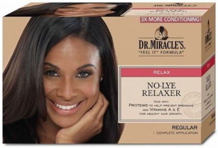 DR Miracle Feel It Formula  No Lye Relaxer Kit