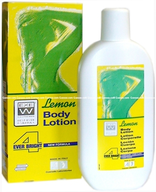EXEW A3 Lemon Body Lotion 500ml