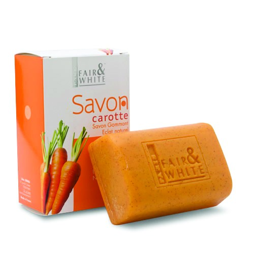 Fair & White Carrot Soap 200g
