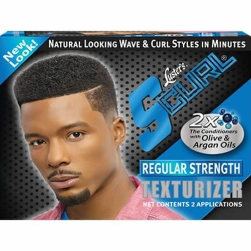 Luster S Curl  Texturizer  Kit - 2 Application Regular