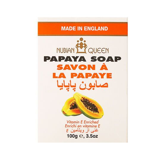 Nubian Queen Papaya Soap 150g