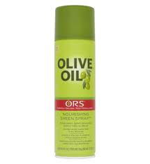 Olive Oil  Sheen Hair Spray