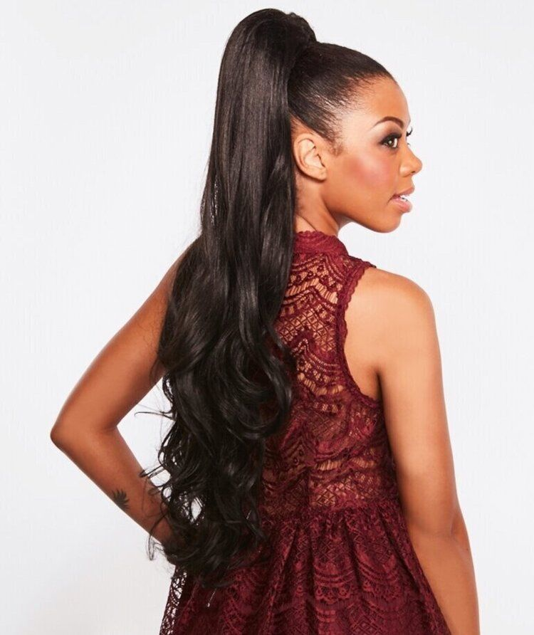 Sleek  NEW Bootylicious EZ Drawstring  Ponytail  30 inches