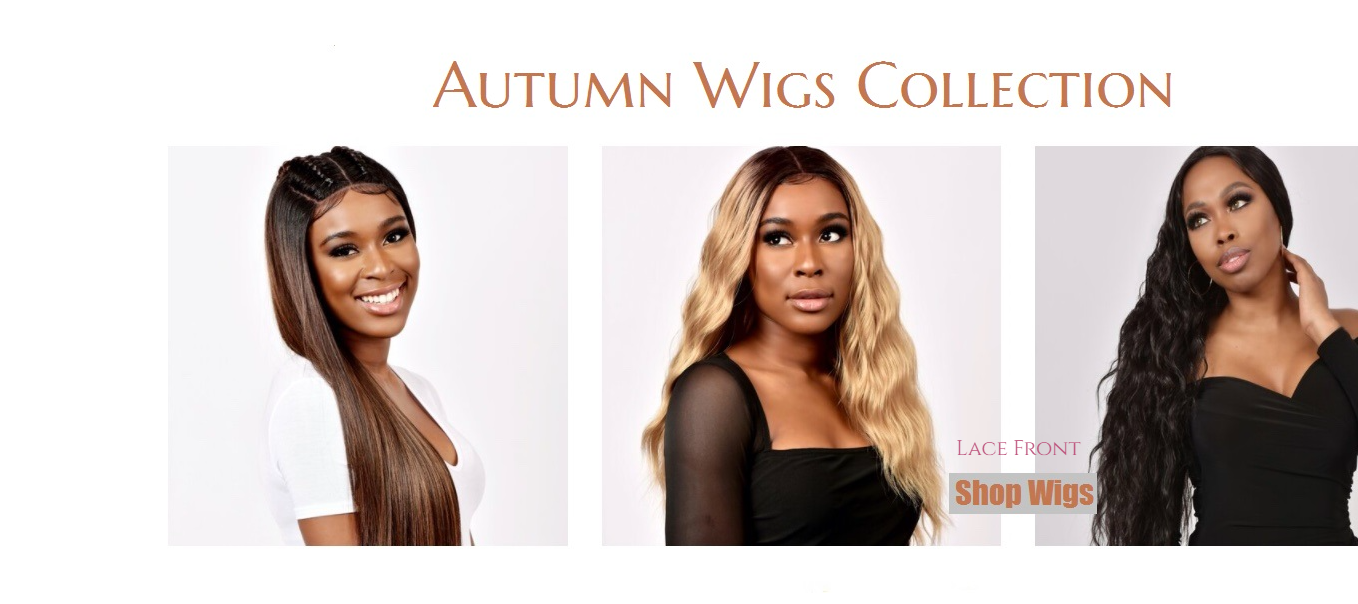 Front Lace Wigs - Autumn Wigs Collection
